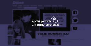 DISPATCH TEMPLATE PSD | ESPECIAL SV by livingthedreambaby
