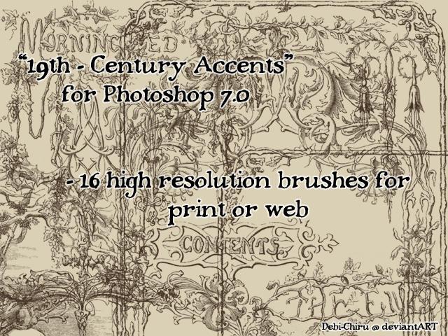 19th Century Accents by Fylgjur
