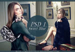 PSD COLORING #01 Sweet Blue by chrissy-cost