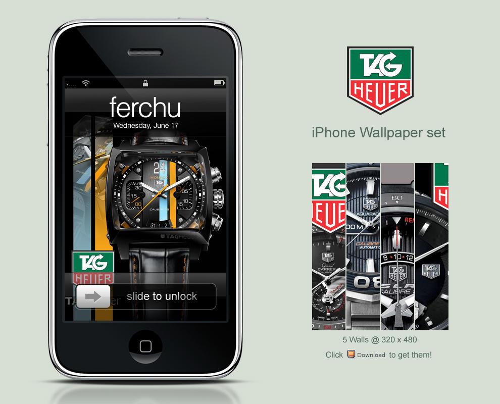 Tag Heuer Logo Wallpaper Tag heuer iphone wallpaper set
