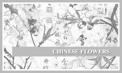 PS7 Brushes: Chinese Flowers