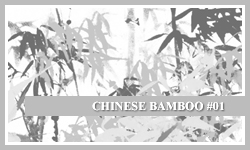 PS7 Brushes: Chinese Bamboo by SacredLies