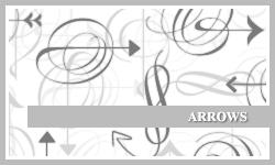 PS7 Brushes: Arrows by SacredLies