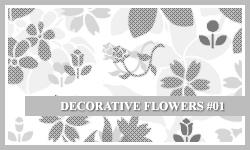 PS7 Brushes: Decor-Flowers by SacredLies