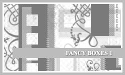 PS7 Brushes: Fancy Boxes