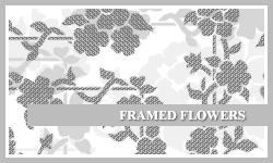 PS7 Brushes: Framed Flowers by SacredLies