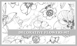 PS7 Brushes: Decor Flower 2 by SacredLies