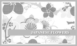 PS7 Brushes: Japanese Flowers by SacredLies