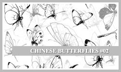 PS7 Brushes: Chinese B-flies 2 by SacredLies