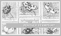 PS7 Brushes: Postage Stamps 2 by SacredLies