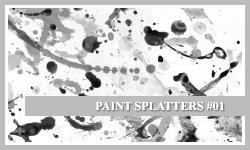 PS7 Brushes: Paint Splatters by SacredLies