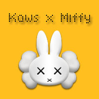 Kaws x Miffy