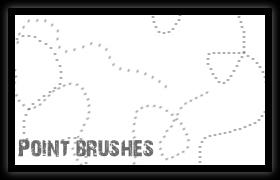 Point Brushes by libertfly
