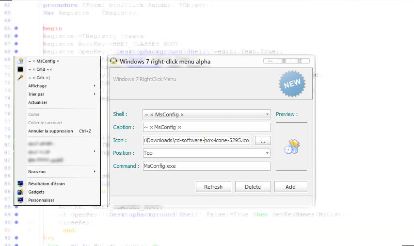 Right Click Context Menu 4Win7 by MicroZaft