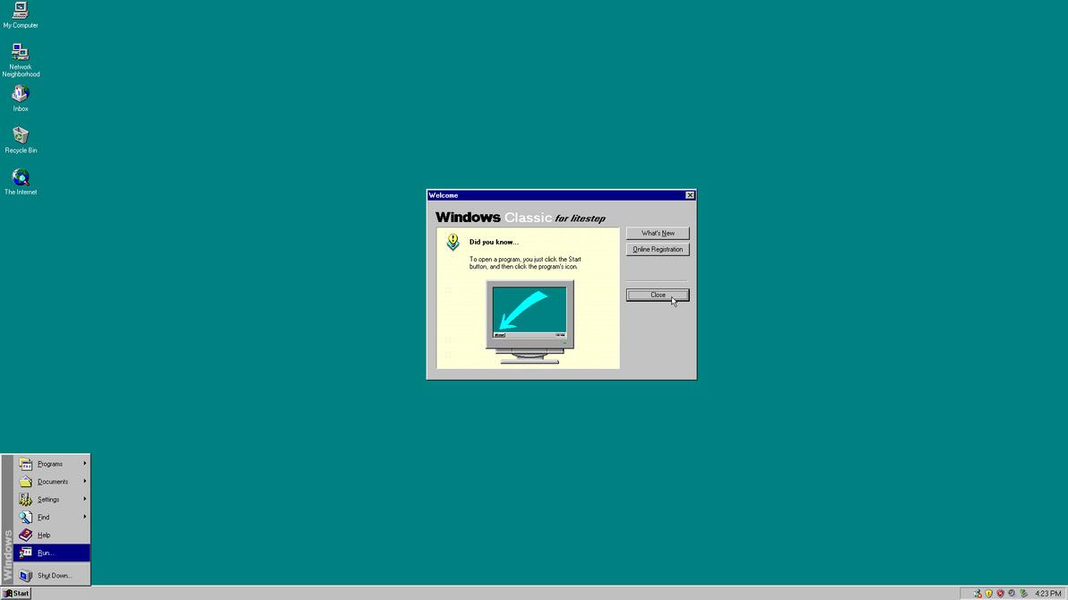 Windows Classic by Baronbruce
