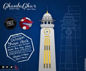 FREE GhantaGhar VECTOR by ykl