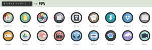 KIRKOS folder icon set by fijea