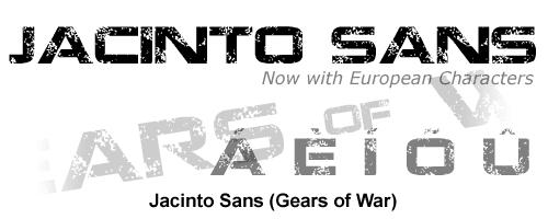 Gears Of War Font By Tracertong On DeviantArt