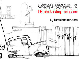 Urban Scrawl 2 by InvisibleSnow