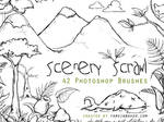 Scenery Scrawl PS Brushes