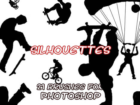 Silhouette brushes