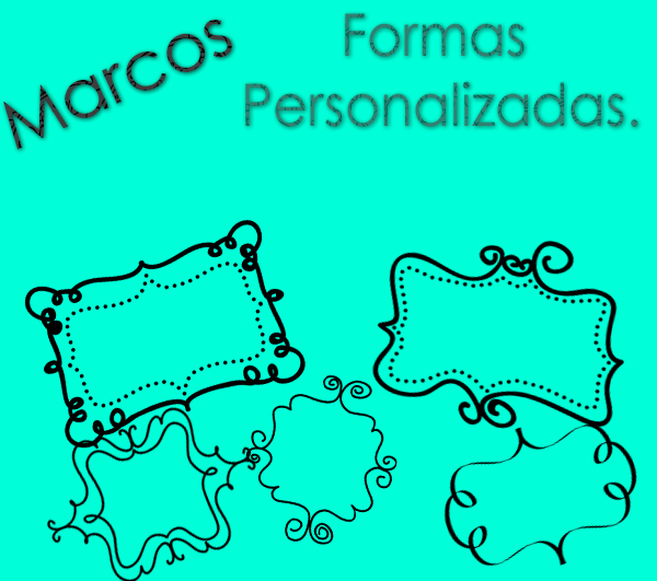 Marcos, Formas Personalizadas by SofiEditionss on DeviantArt