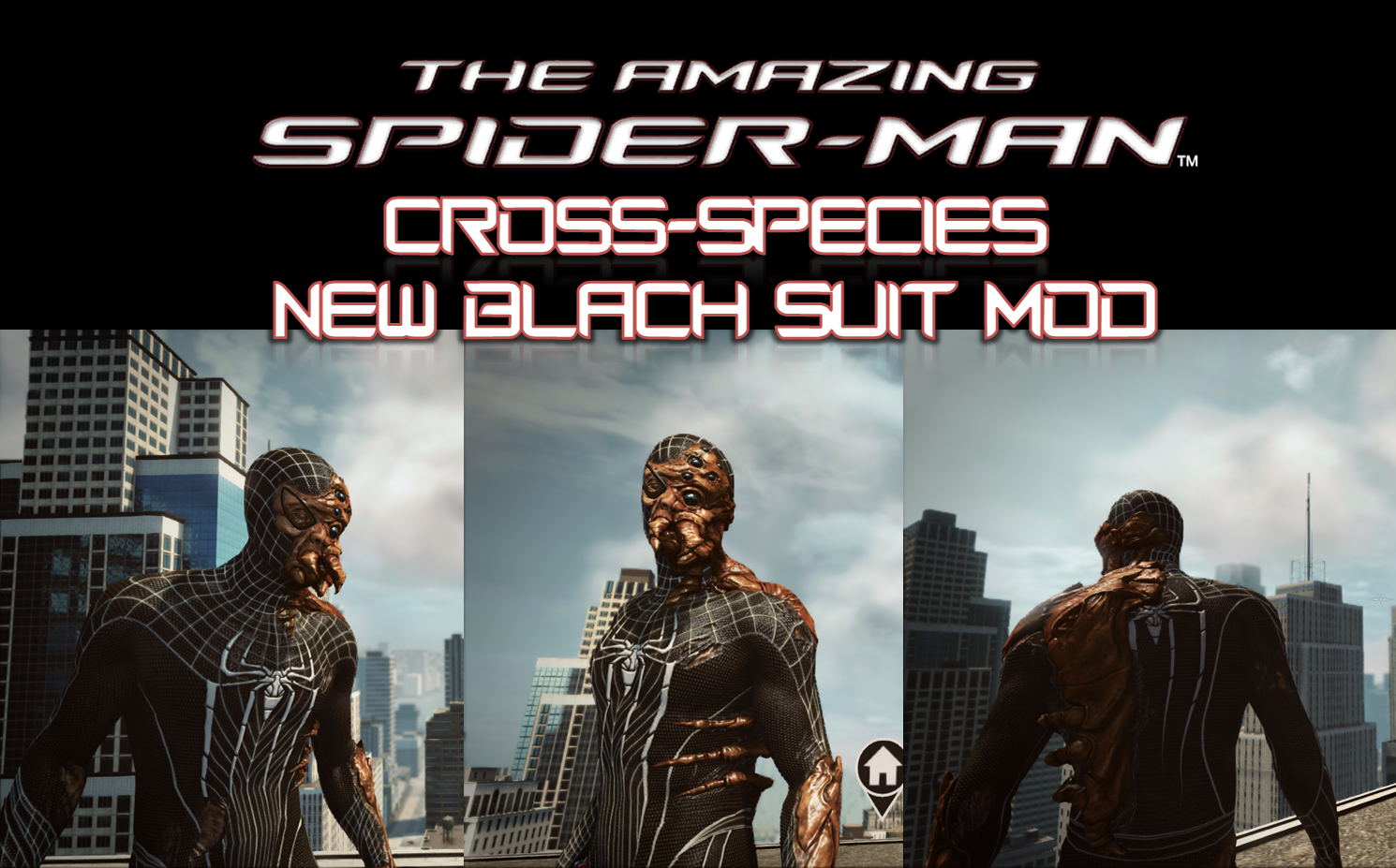 Cross-Species New Black Suit MOD by sanadsk5 on DeviantArt
