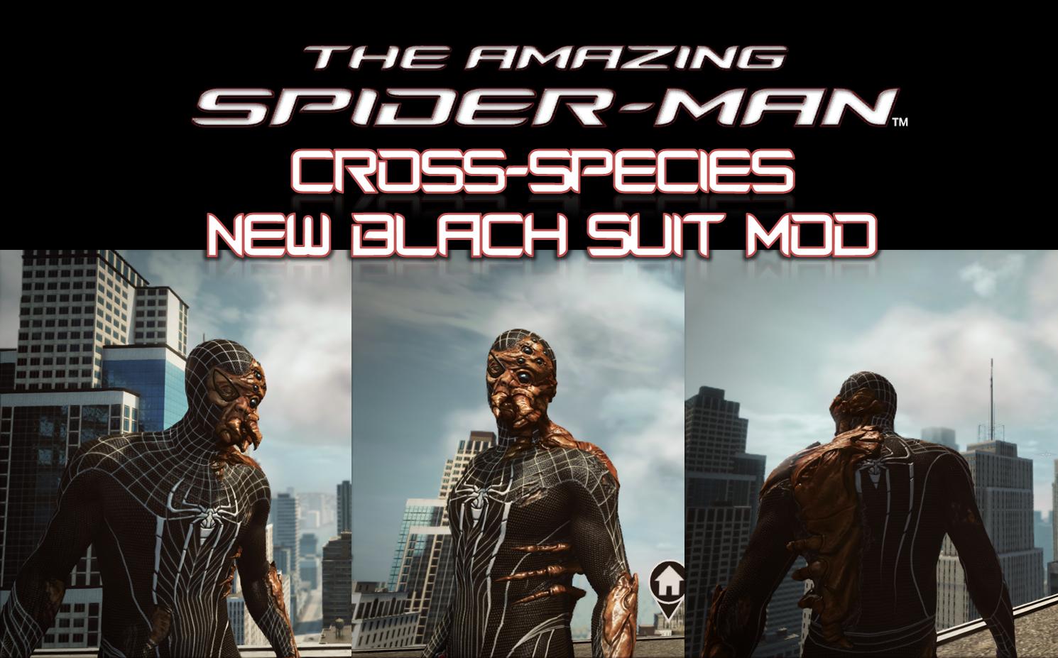 Cross-Species New Black Suit MOD by sanadsk5 on DeviantArt