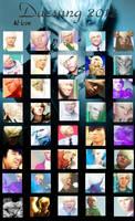 Daesung 2012 - 40 icons by dasmi93