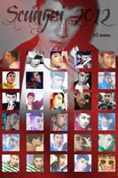 Seungri 2012 - 30 icons by dasmi93