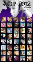 T.O.P 2012 - 40 icons by dasmi93