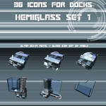 Hemiglass Icon Set vol.1