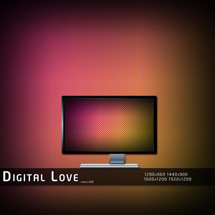 Digital Love by makoy00