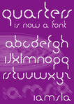 Quarters font TTF