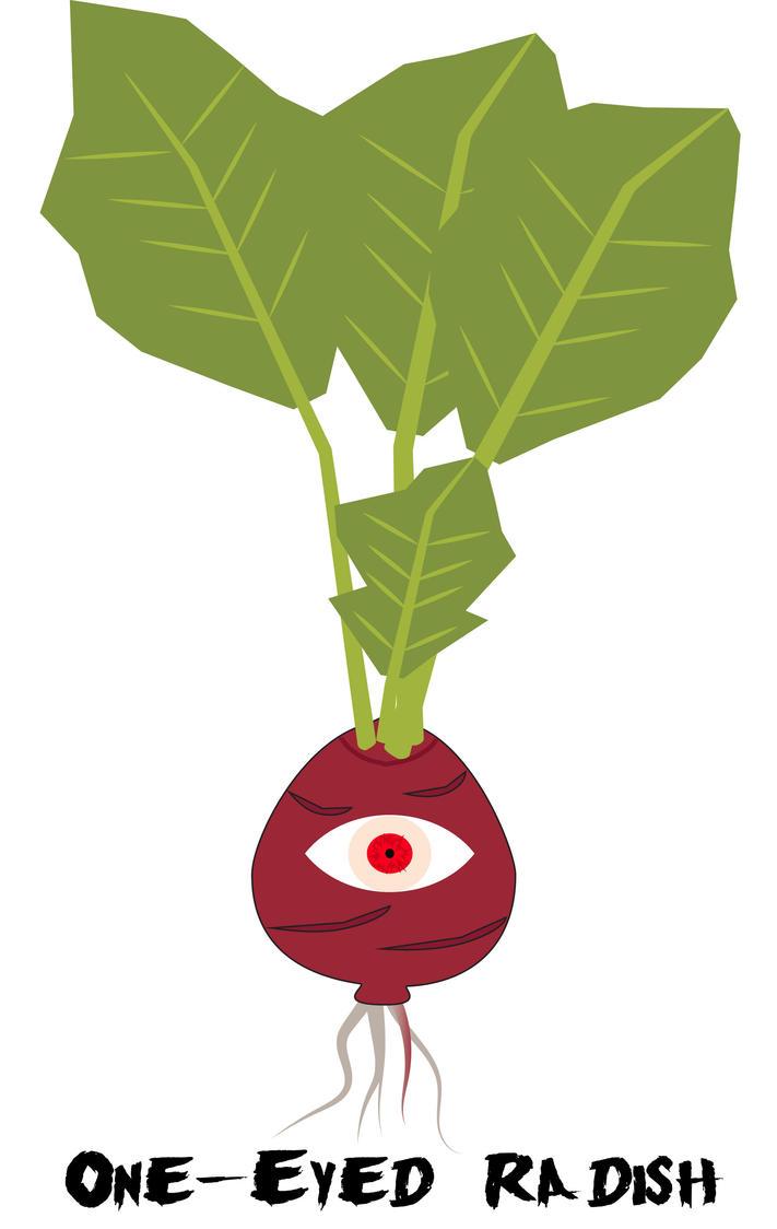One-eyed Radish by JetStrange