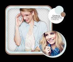PACK PNG #02 // EMMA ROBERTS by oncesoul
