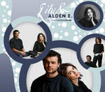 PACK PNG #23 | LILY COLLINS AND ALDEN EHRENREICH