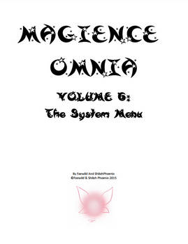 Magience Omnia #6: The System Menu
