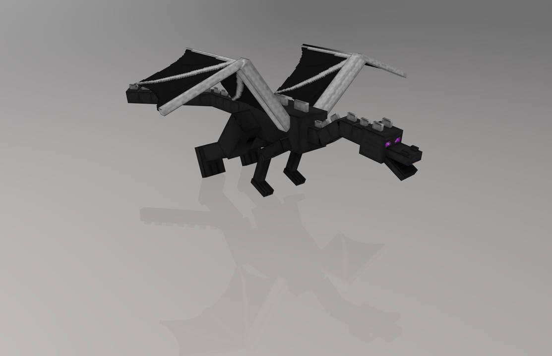 MINECRAFT - ENDER DRAGON by FiL3dModels on DeviantArt