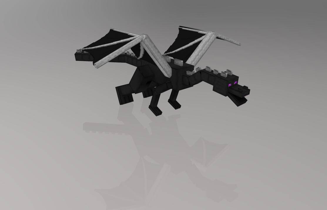 MINECRAFT - ENDER DRAGON by FiL3dModels