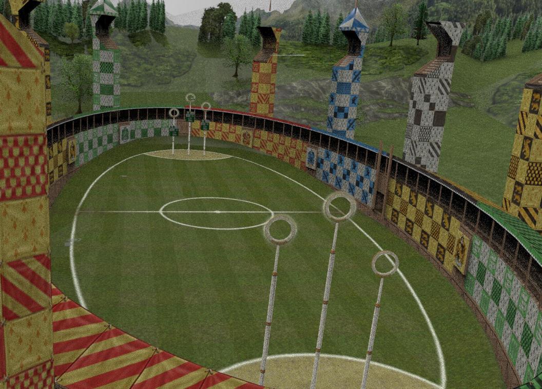 QUIDDITCH STADIUM by FiL3dModels