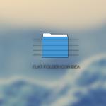 Flat folder
