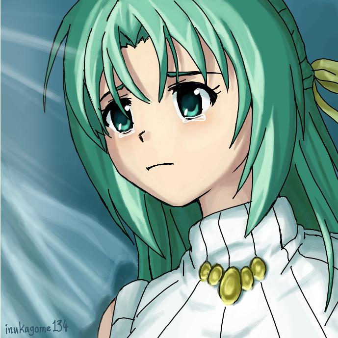 Shion Sonozaki, crying by inukagome134
