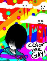 color me gay gif by Saya-Chan-7