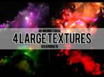 4 Large Dark Textures