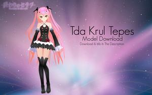 [MMD] Tda Krul Tepes v1.05 (Updated Model DL)
