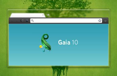 Gaia 10 Chrome Skin