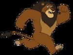 Zuba Running Animation