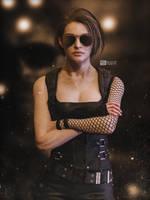 Jill look Sarah Connor 3D RENDER