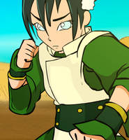 Toph_TeaserSnippet_Anim by ScoobyKun